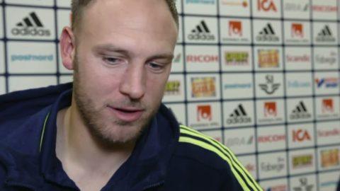 Granqvist känner att Sverige börjar hitta rätt i nya spelsystemet