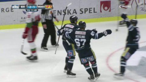 Höjdpunkter: BIK Karlskoga upp på andra plats efter seger