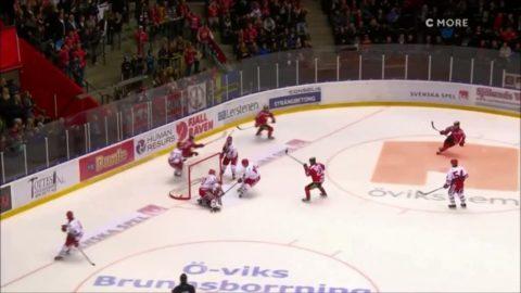 Höjdpunkter: Modo stoppade Timrå - vann rivalmötet