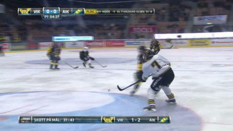 Höjdpunkter: Sandberg fixade extra poängen åt AIK