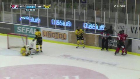 Höjdpunkter: Vita Hästen knep extrapoängen mot Västerås