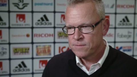 """Janne Andersson: """"Finns en jäkla lojalitet i laget"""""""