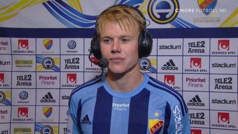 """Käck gjorde sitt första allsvenska mål: """"Jag har väntat på det"""""""