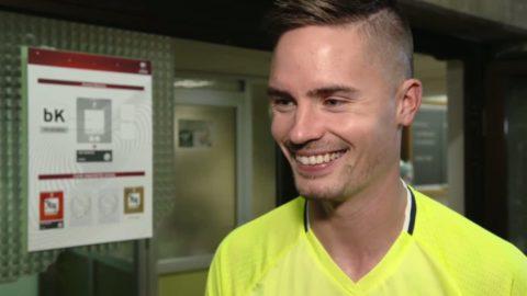 """Lustigs luriga smil om målgesten: """"Vi hittade på något"""""""