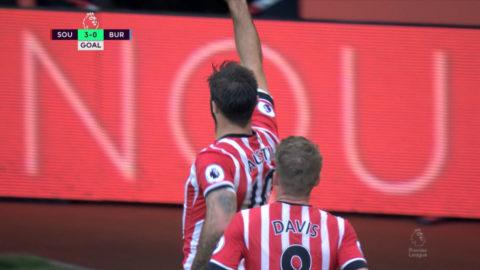 Mål: Austin slår till för Southampton på straff (3-0)