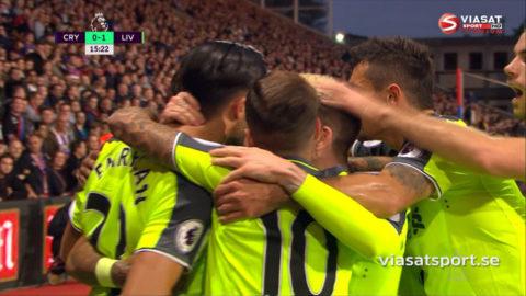 Mål: Can spräcker nollan för Liverpool (0-1)