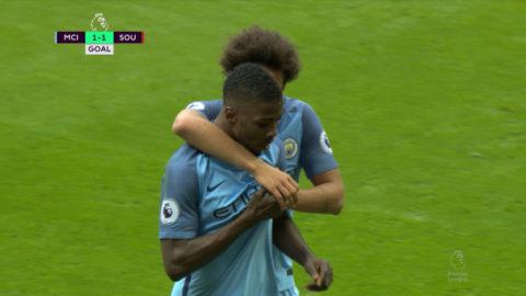 Mål: City kvitterar - Iheanacho nätar (1-1)