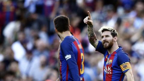 Mål direkt i comebacken för Messi