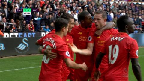Mål: Liverpool kvitterar - Firmino nätar (1-1)