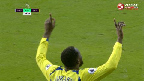Mål: Lukaku spräcker nollan mot City (0-1)