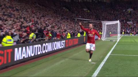 Mål: Mata spräcker nollan för United (1-0)