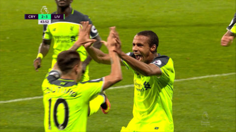 Mål: Matip ger Liverpool ledningen på nytt (2-3)
