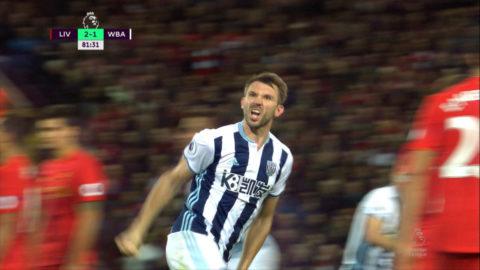 Mål: McAuley trycker in reduceringen på Anfield (2-1)