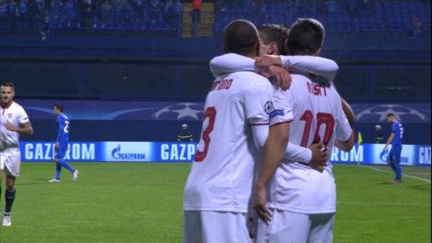 MÅL: Nasri frälste Sevilla med påpasslig skarv (0-1)