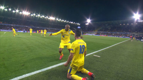 MÅL: Porto straffade Club Brügge på tilläggstid - avgjorde sent (2-1)