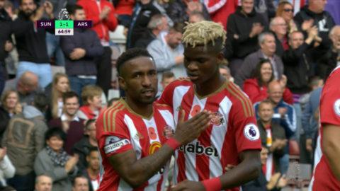 Mål: Sunderland kvitterar - Defoe nätar på straff (1-1)