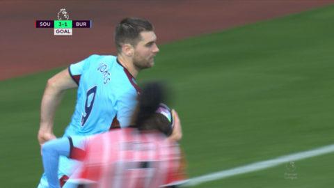 Mål: Vokes reducerar på straff för Burnley (3-1)