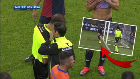 Målkameran svek i Genoa-derbyt