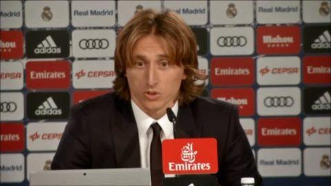 """Modric efter förlängningen: """"En mycket speciell dag i mitt liv"""""""