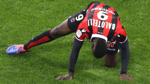 Nice vann trots Balotellis straffmiss
