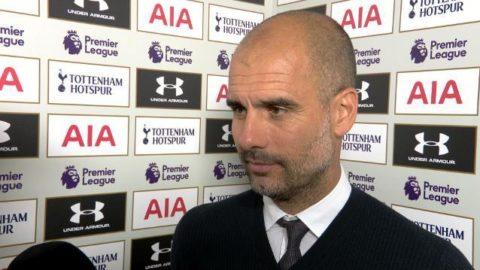 """Pep Guardiola om Tottenham: """"De var bättre"""""""