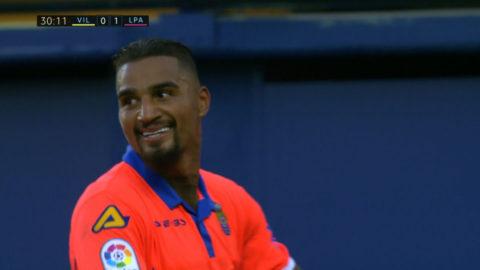 Prince Boateng gjorde tv-spelsmål - förgäves för Las Palmas