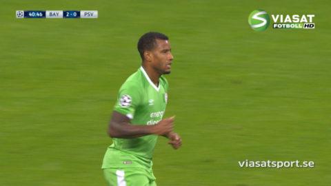 PSV dunkar in reduceringen - Narsingh med vackert distansskott