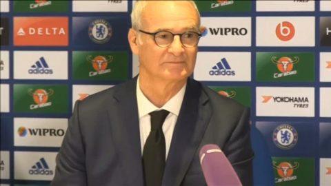 Ranieri försvarar beslutet att vila spelare