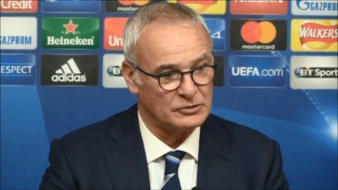 """Ranieri: """"PL är vår prioritering"""""""