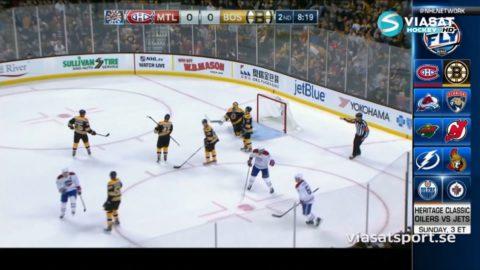 Sammandrag: Boston-Montreal: 2-4