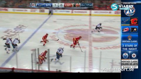 Sammandrag: Calgary-St Louis: 4-6