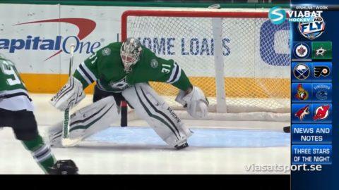 Sammandrag: Dallas - Winnipeg: 3-2