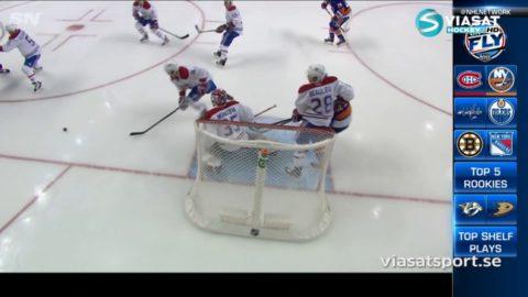 Sammandrag: New York Islanders-Montreal: 2-3