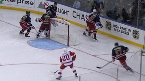 Sammandrag: NY Rangers-Detroit (1-2)
