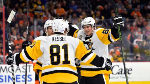 Sammandrag: Philadelphia-Pittsburgh (2-5)