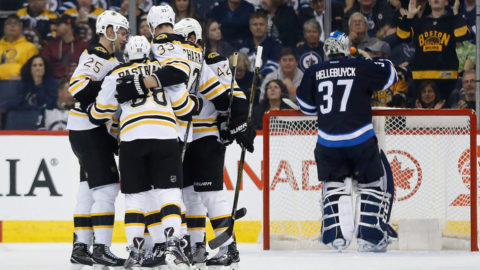 Sammandrag: Winnipeg-Boston (1-4)