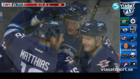 Sammandrag: Winnipeg - Dallas: 4-1