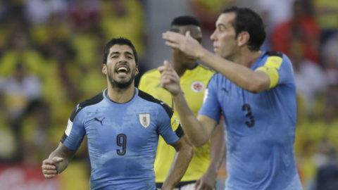 Sen kvittering räddade Colombia mot Uruguay