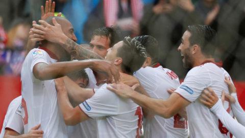 Sevilla upp i serieledning - vann toppmötet mot Atletico