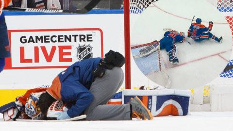 Skadan förstörde Gustavssons chans –i Edmontons genomklappning
