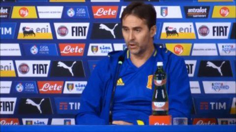 """Spaniens förbundskapten: """"Costa startar mot Italien"""""""
