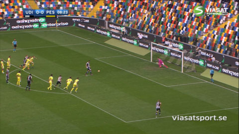 Thereaus läckra chip bakom Udineses seger