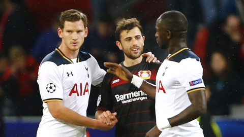 Tottenham tappade poäng - nollade borta mot Leverkusen
