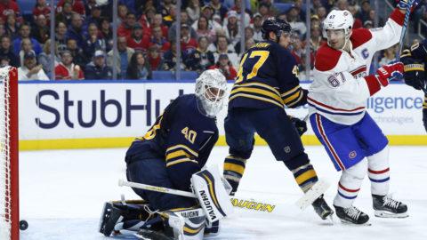 TV: Buffalo Sabres-Montreal Canadiens (1-4)