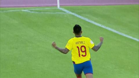 TV: Ecuador utökar mot Chile - Ramirez gör första landslagsmålet