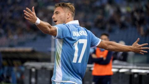 TV: Immobiles målform tog Lazio närmare toppen