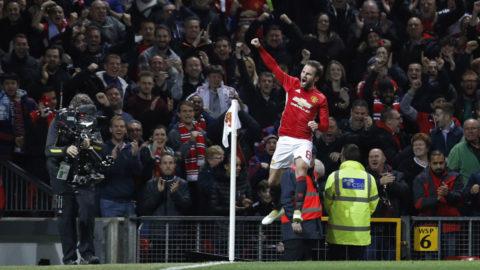 TV: Juan Mata stor matchhjälte - sköt United till kvartsfinal
