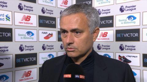 """TV: Mourinho: """"Svårare för dem än för oss"""""""