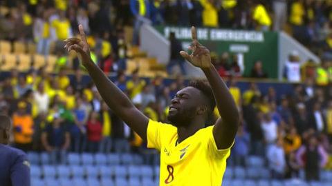 TV: Överkörningen fortsätter - Caicedo sätter trean mot Chile