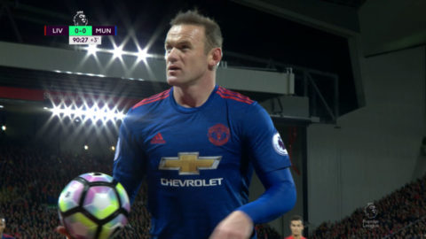 TV: Rooney irriterad på person i publiken